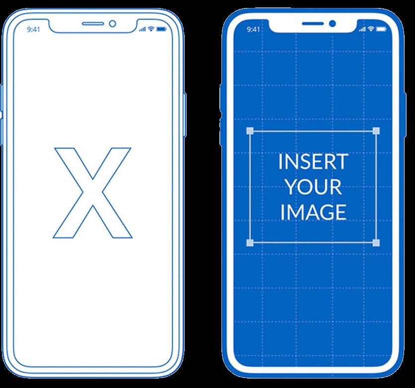 12 iPhone X Mockup fo 1 1 1