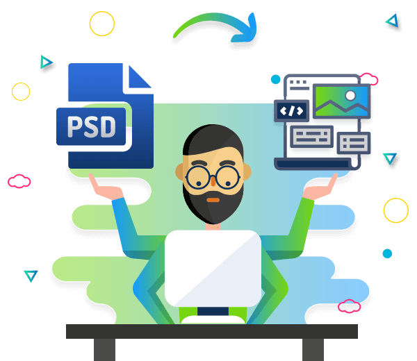 psd to email html